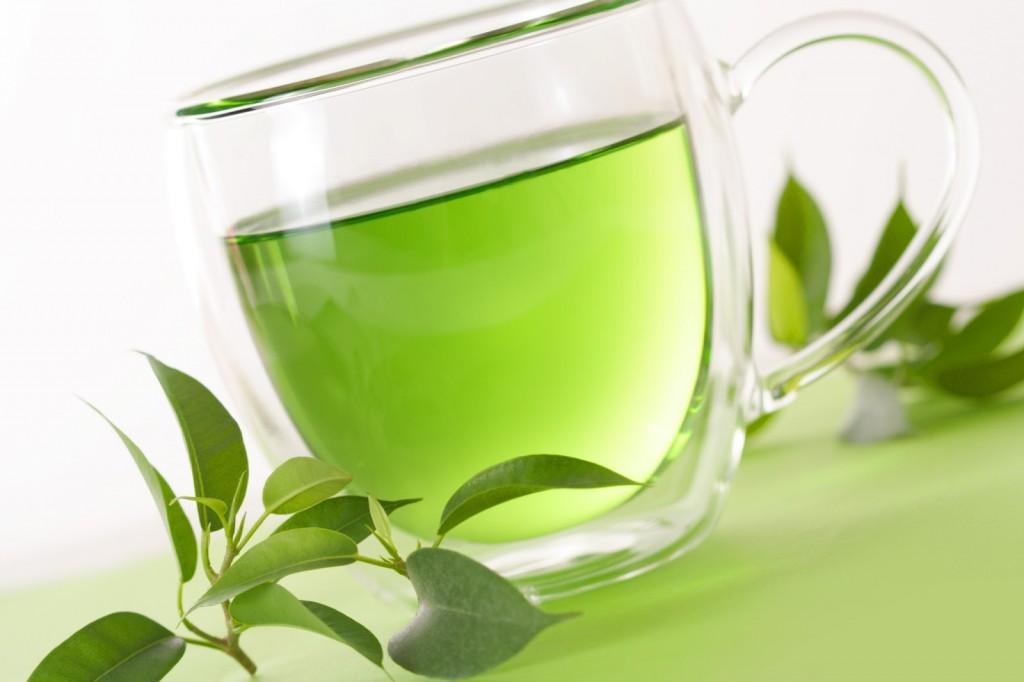 te verde para piel bonita alimentos