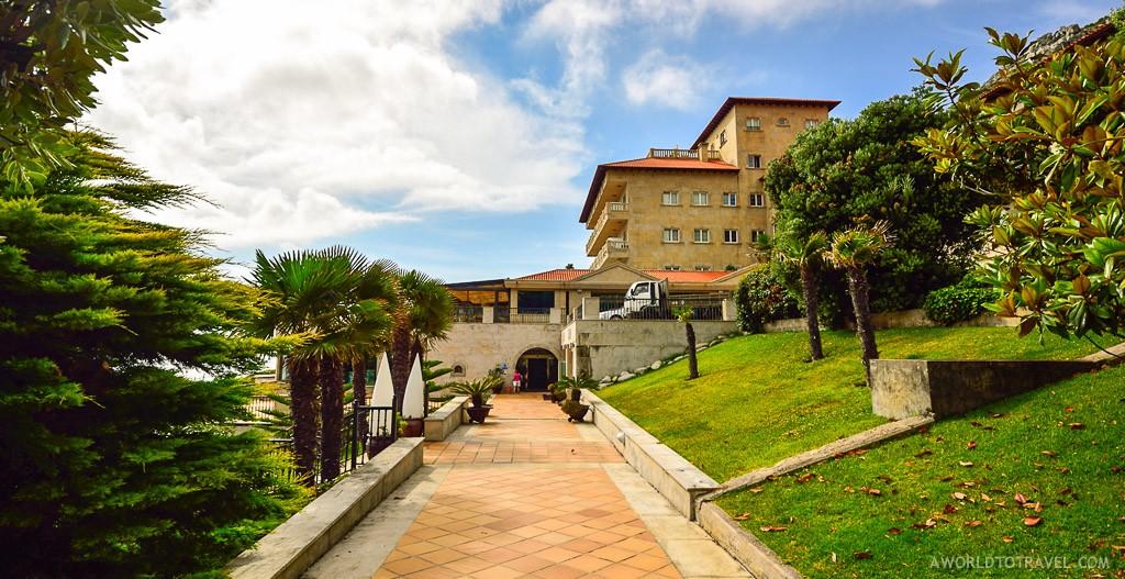 Talaso Atlántico, hotel en Oia Baiona A Guarda