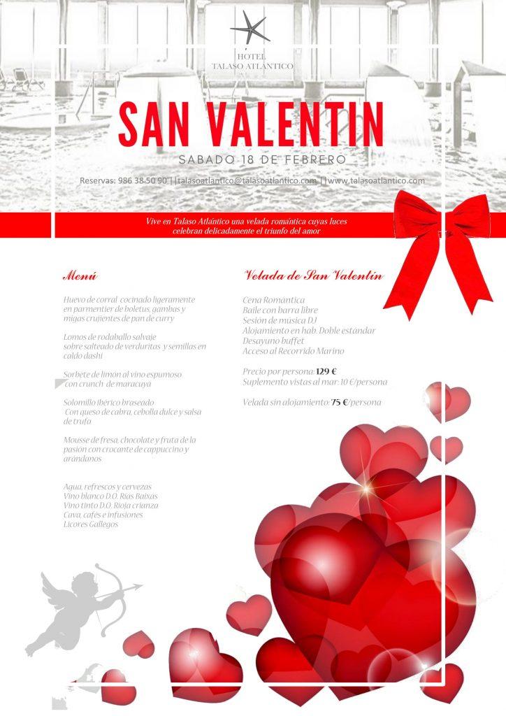 Noche de hotel San Valentín en hotel