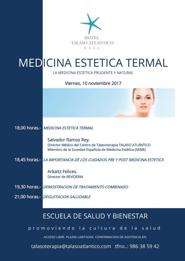 Medicina Estetica Termal en Talaso Atlantico