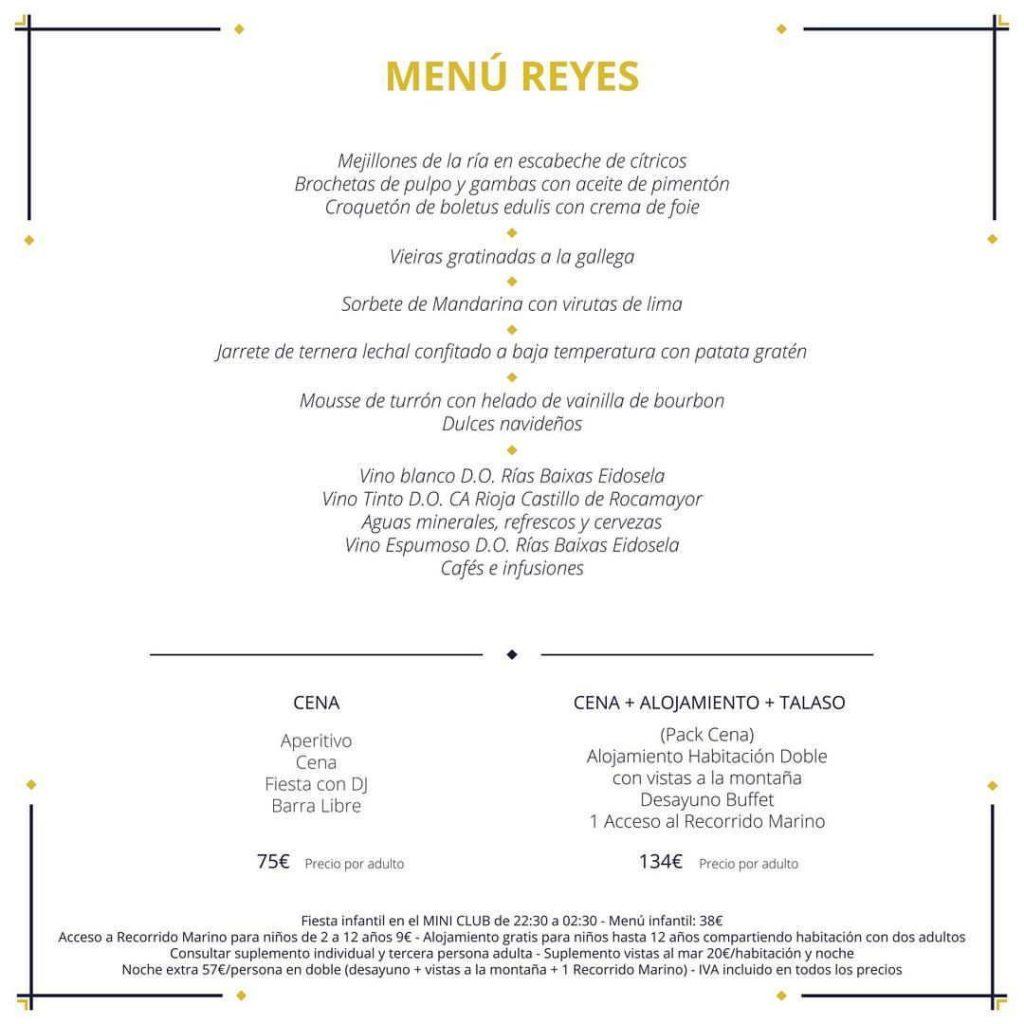 Oferta especial noche y cena de Reyes con hotel
